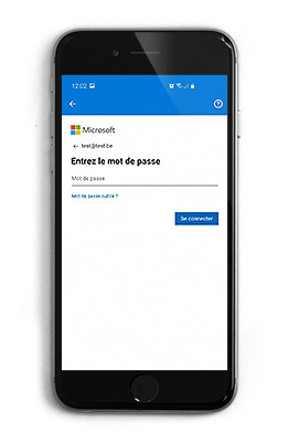 Outlook 365 configuration mobile